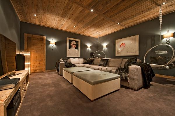 Le confort et la beaut du chalet suisse en photos - Decoration interieur chalet moderne ...