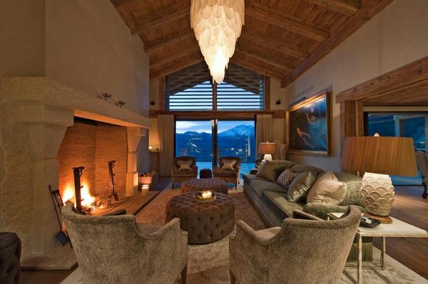 chalet-suisse-le-chalet-Norte-salle-de-séjour