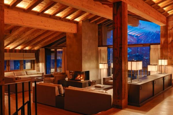 chalet-suisse-les-anges-intérieur-moderne