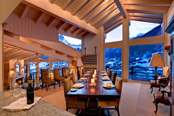 chalet-suisse-salle-de-déjeuner-phénoménale