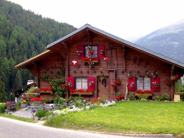 le confort et la beaut 233 du chalet suisse en photos