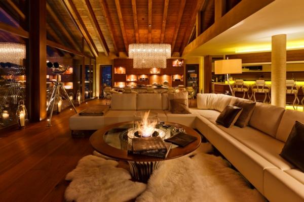 chalet-suisse-un-hall-spacieux-dans-un-chalet