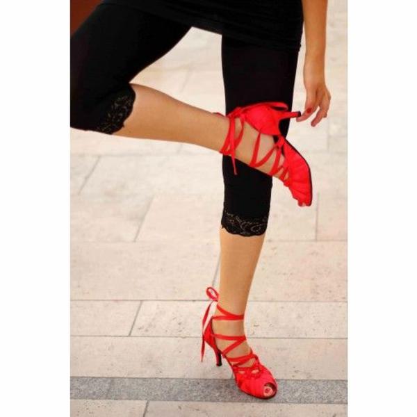 chaussures-de-salsa-ballerines-rouges