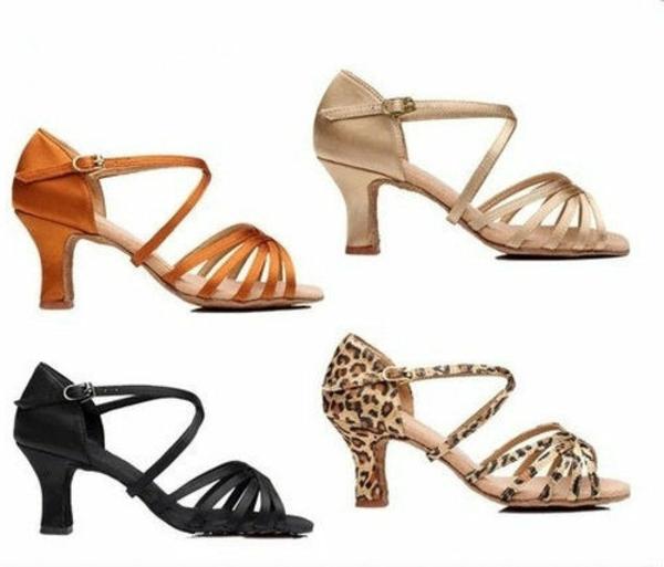 chaussures-de-salsa-différents-modèles