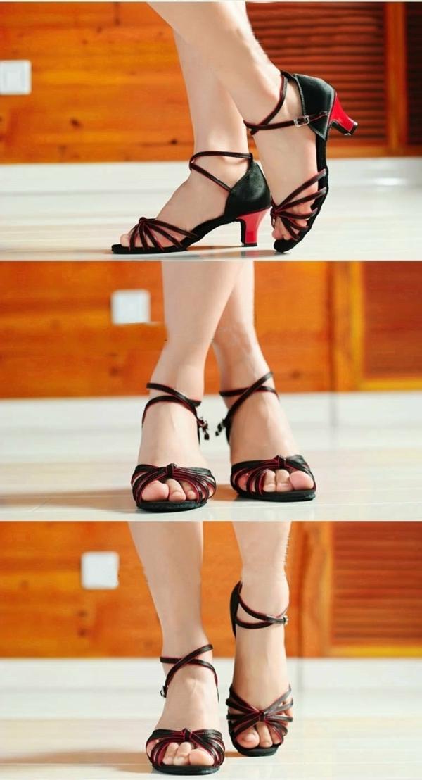 chaussures-de-salsa-noires
