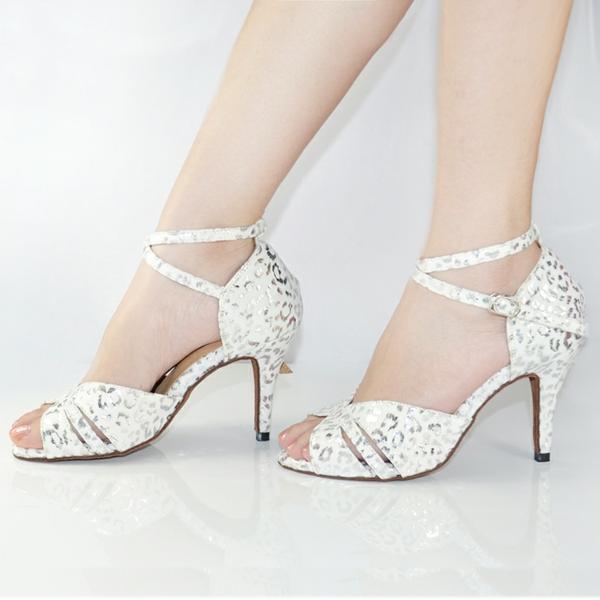 chaussures-de-salsa-sandales-blanches-originales