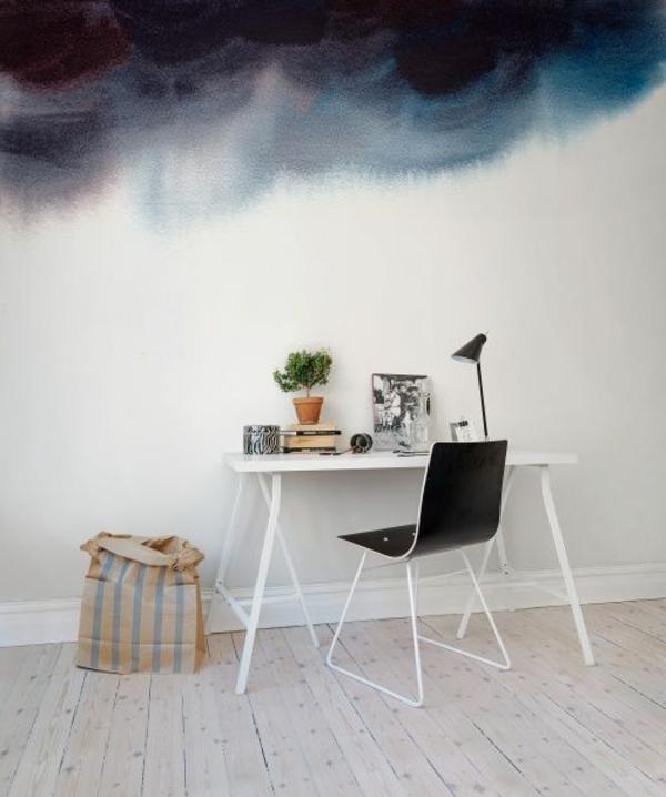 ciel-bleu-foncé-chambre-jolie-design-original-papiers-peints-originaux