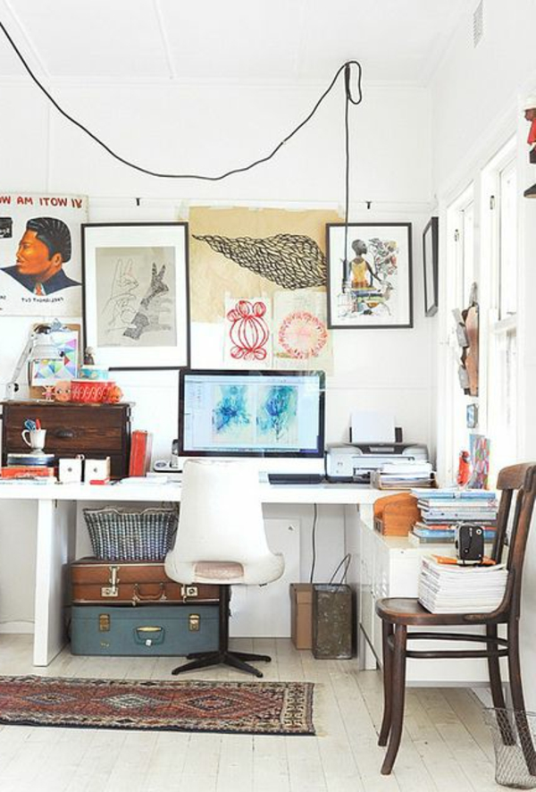 Le plus confortable fauteuil de bureau pour votre int rieur - Bureau de travail blanc ...