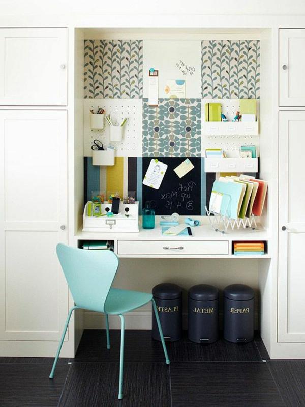 coin-de-travail-chaise-bureau-bleu