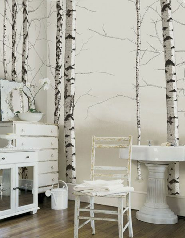 colleuse-papier-peint-diy-déco-de-mur-arbres-chambre
