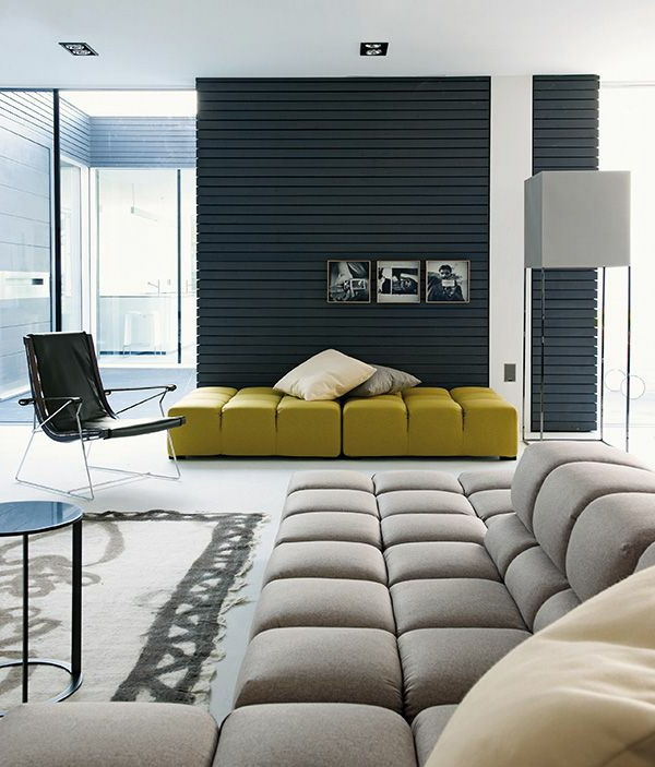 comment bien peindre son salon id e. Black Bedroom Furniture Sets. Home Design Ideas