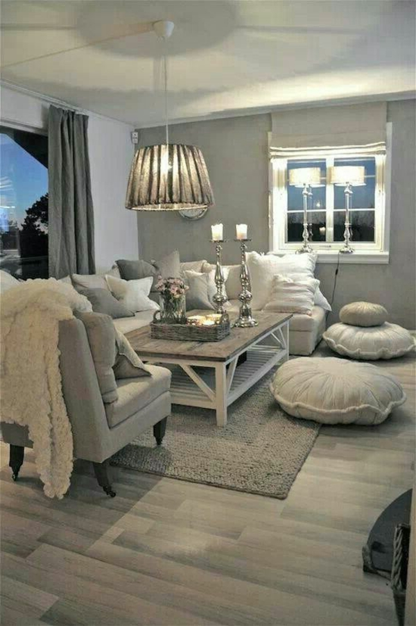 59 id es pour comment am nager son salon - Comment decorer un appartement blanc ...
