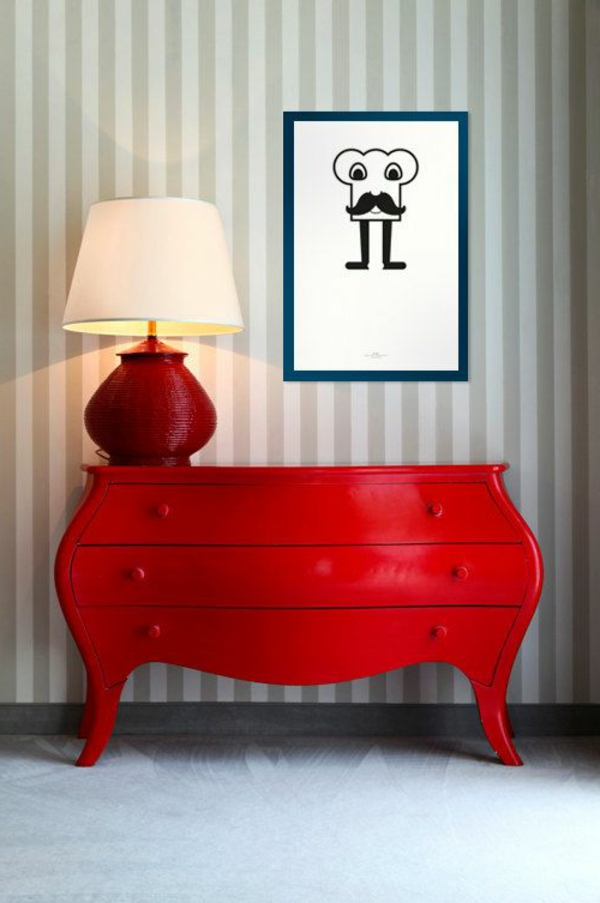 commode-rouge-lampe-rouge