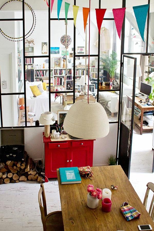 commode-rouge-salon-moderne-grand