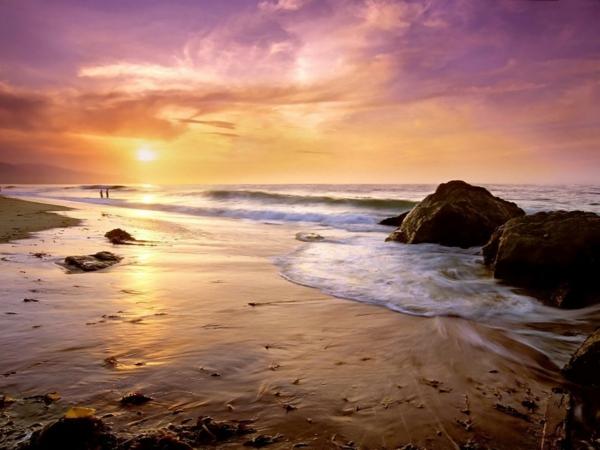 couche-de-soleil-sur-la-plage