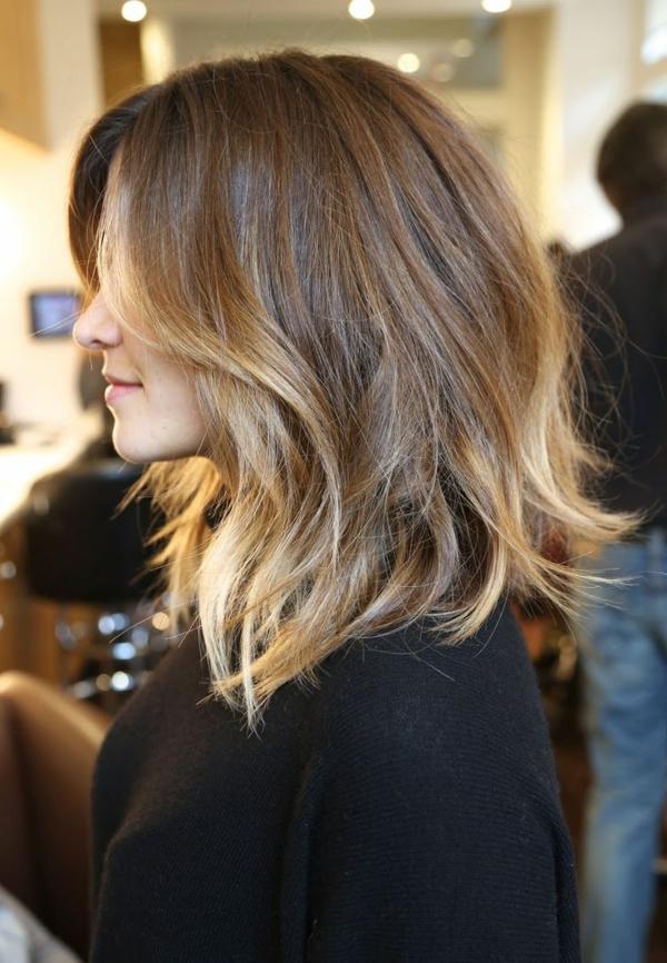 coupe-cheveux-mi-long-style-ombré