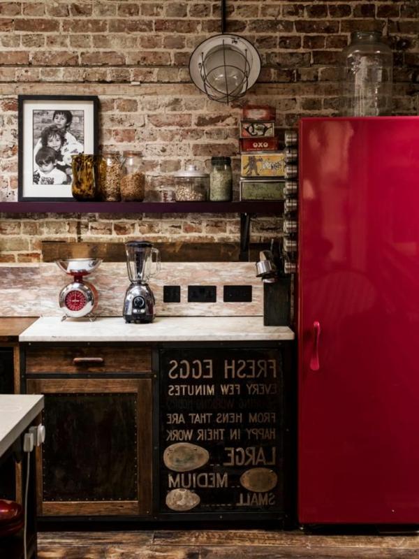 cuisine-moderne-meuble-rouge
