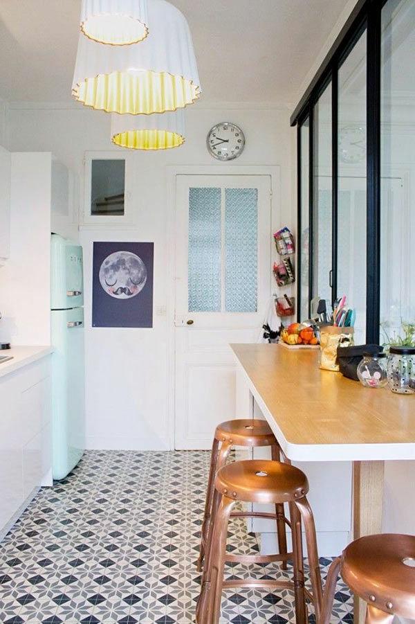 cuisine-revêtement-de-sol-carrelage