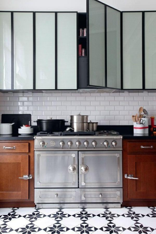 cuisine-revêtement-de-sol-en-lino