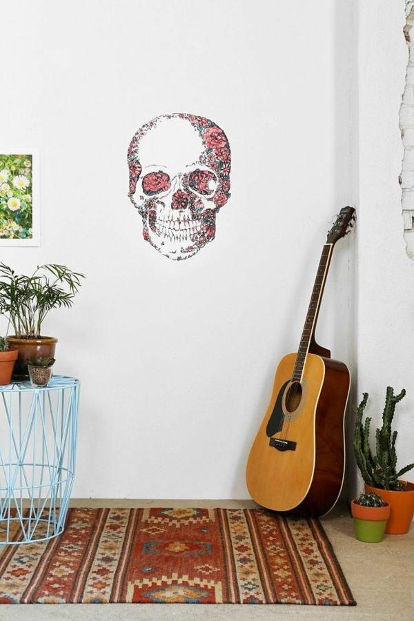 déco-mural-salon-intérieur-moderne