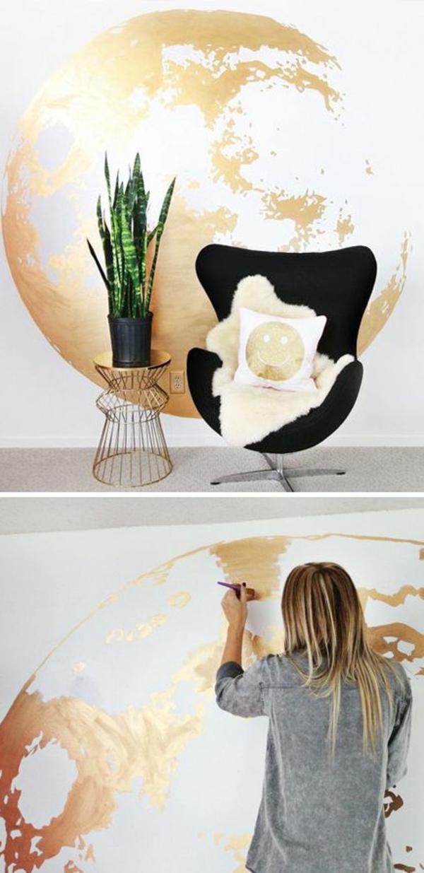 décoation-mural-idée-salon-beau