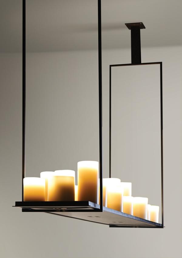 décoration-bougie-Décoration-chambre-lumineuse-avec-bougies