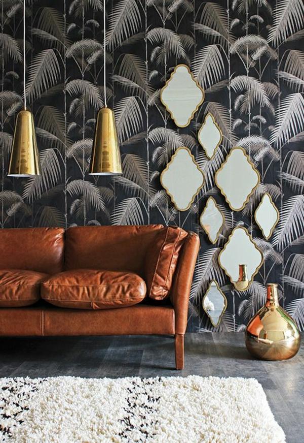 décoration-murale-originale-sofa-sans-le-salon