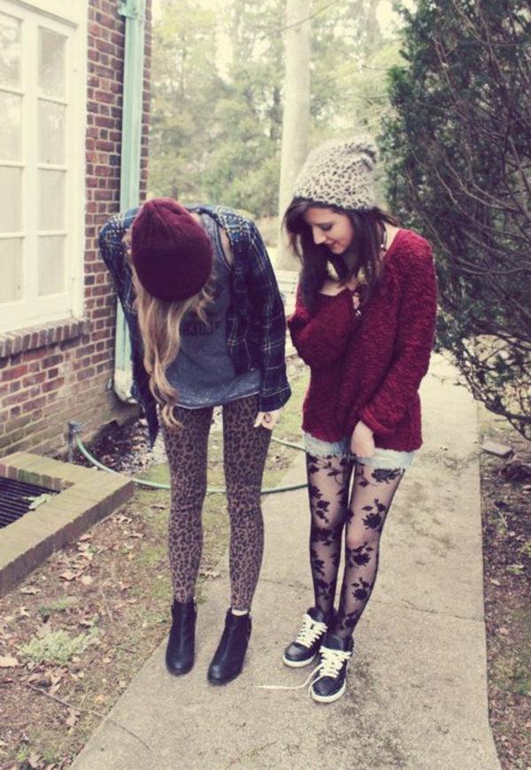 des-amis-filles-modernes-vêtements