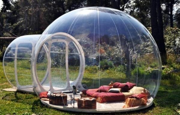 Dormir dans une bulle o on peut le faire - Bulle pour dormir a la belle etoile ...
