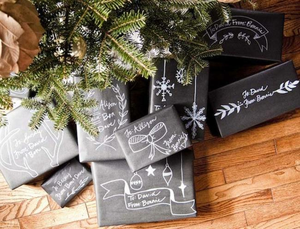 emballage -cadeaux-original -et-chic-noir-et-blanc