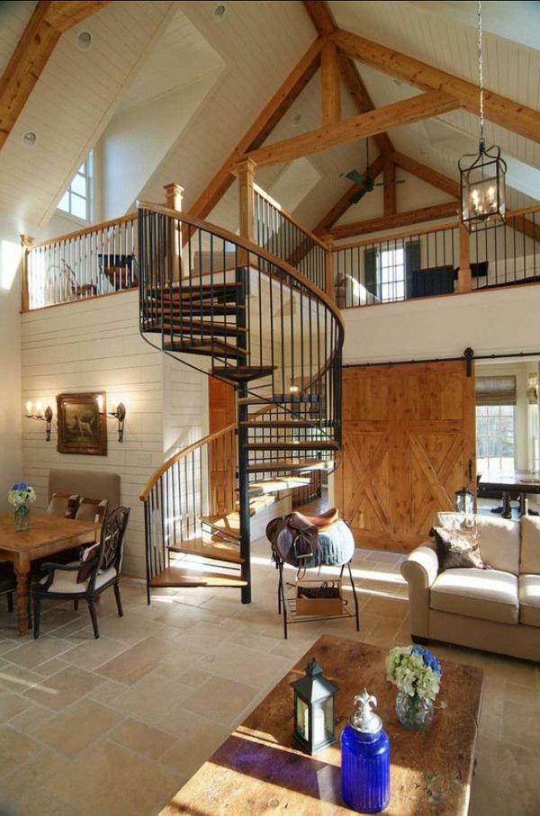 escalier-loft-en-bois-et-fer-designs-loft-industriels