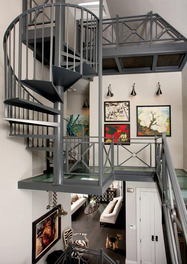 escalier-loft-escalier-tournant-dans-une-maison-loft-unique
