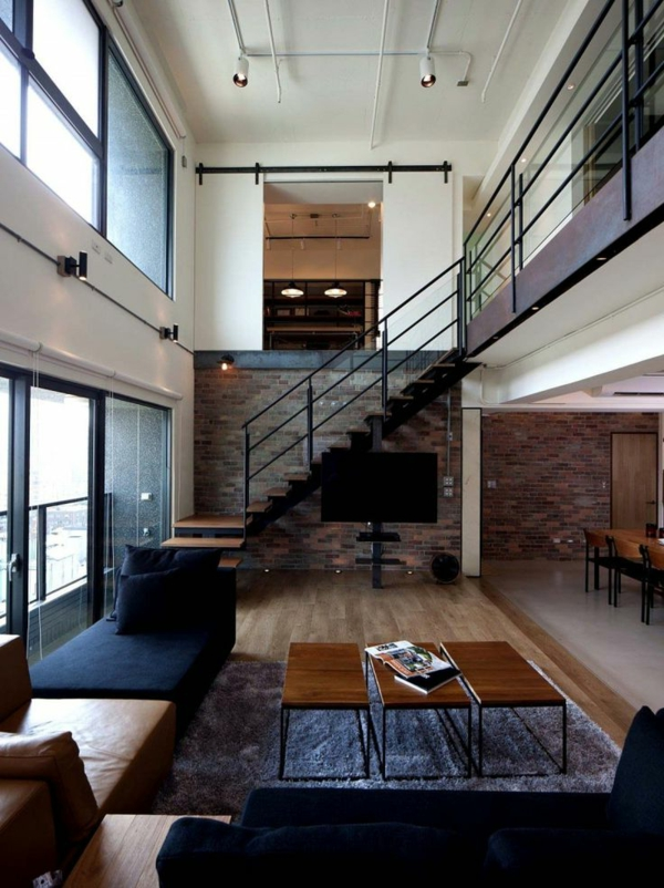 Designs captivants d 39 escalier loft - Escalier loft lapeyre ...