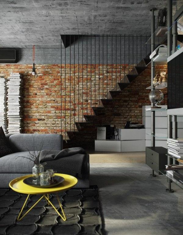 escalier-loft-original-dans-un-studio-unique
