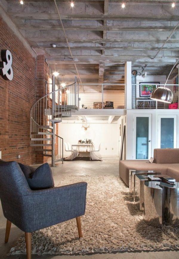 escalier-loft-plafond-gris-industriel-un-beau-appartement-industriel