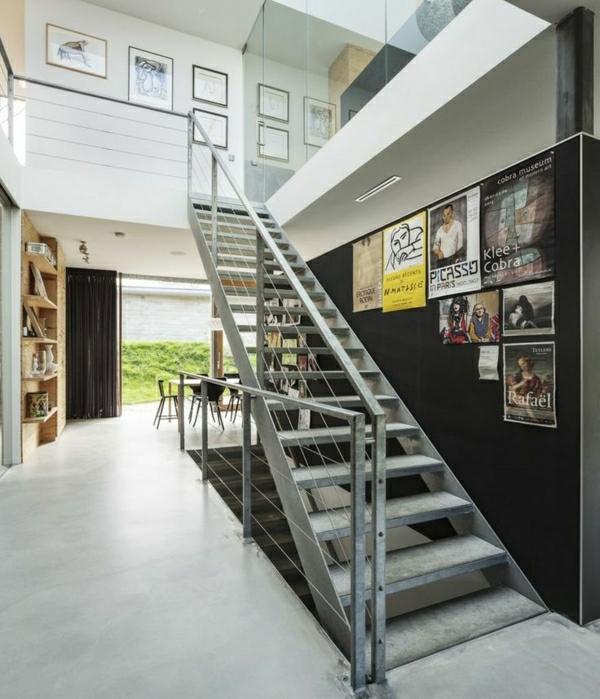 escalier-loft-pour-un-intérieur-original