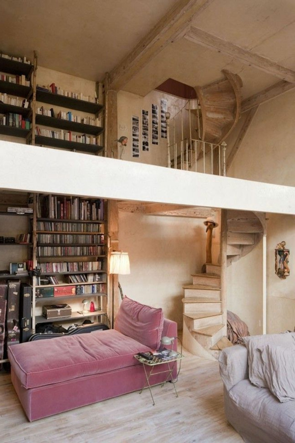 Designs captivants d 39 escalier loft for Appartement loft paris