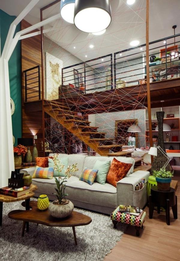 escalier-loft-un-beau-appartement-à-touche-industrielle