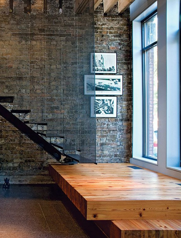 escalier-loft-une-plateforme-en-bois