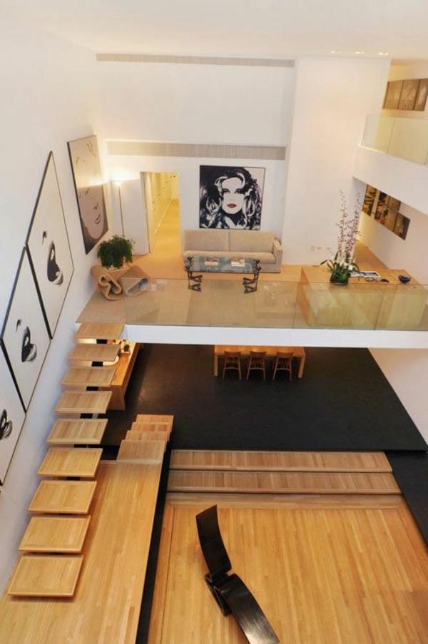 escalier-loft-unique-pas-japonais-menant-vers-un-étage-original