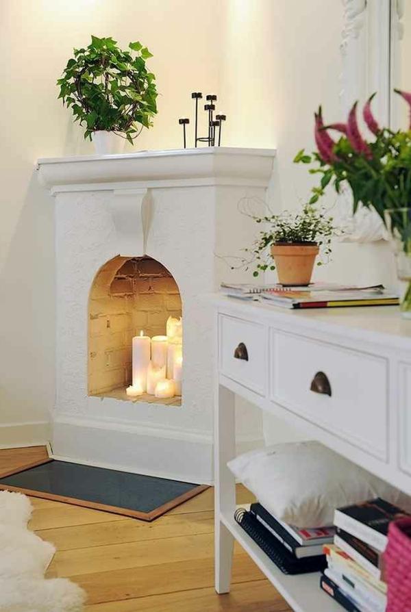 60 idees avec les bougies decoratives for Salle de bain design avec boites à archives décoratives