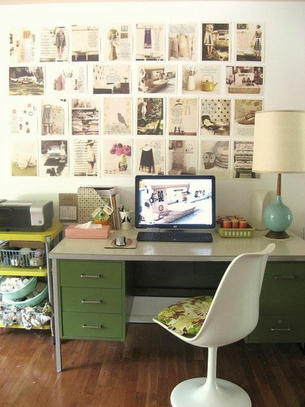 fauteuil-de-bureau-parquet-bois-photos-murales