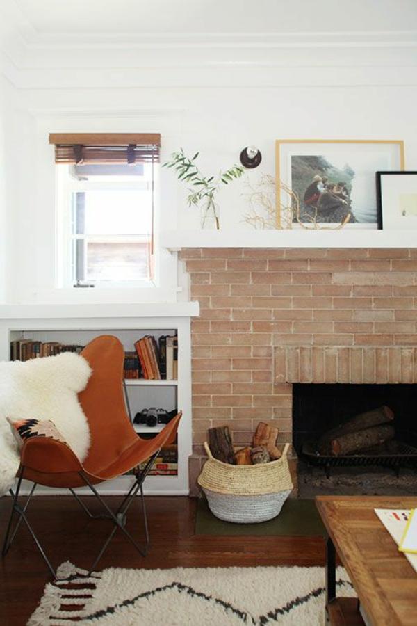fauteuil-papillon-bois-marron