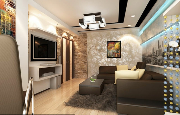 faux-plafond-suspendu-chambre-luxueuse-et-belle