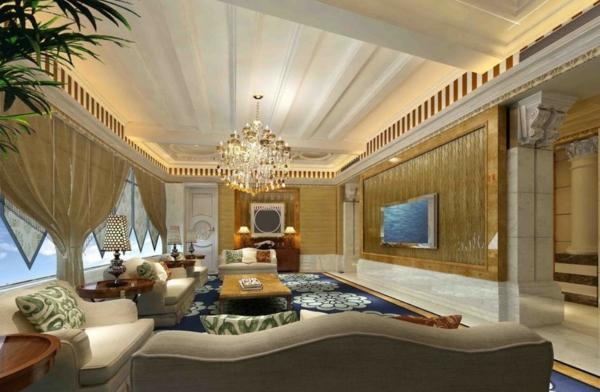 faux-plafond-suspendu-en-blanc-intérieurs-luxueux