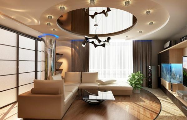 Le faux plafond suspendu est une d co pratique pour l 39 int rieur - Plafond pour percevoir l apl ...