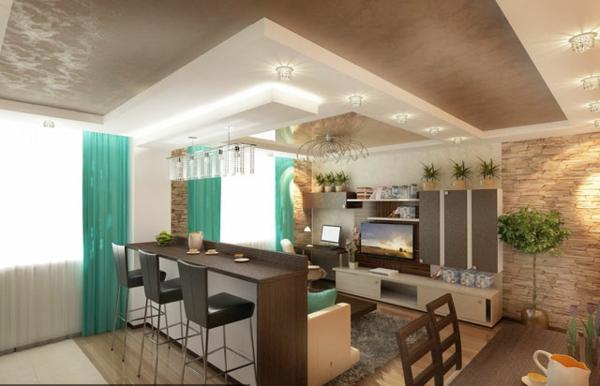 faux-plafond-suspendu-espaces-décoratifs