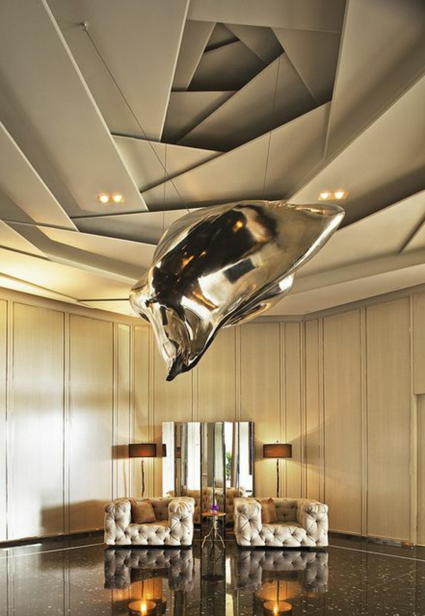 Le faux plafond suspendu est une d co pratique pour l for Type de faux plafond