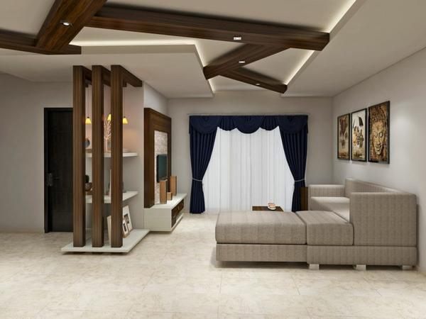 faux-plafond-suspendu-intérieur-minimaliste