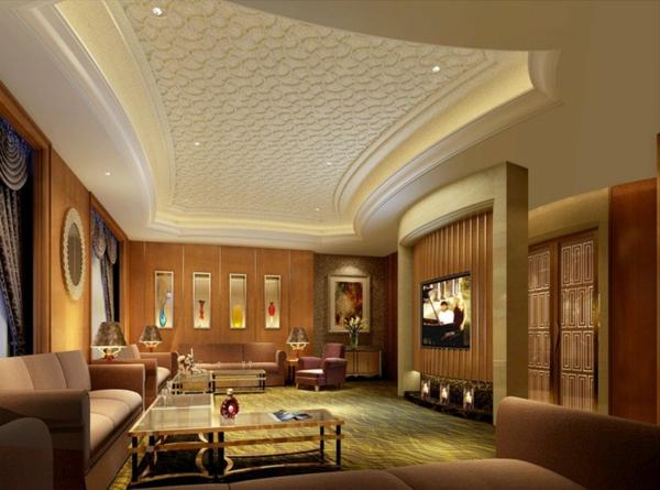 faux-plafond-suspendu-intérieur-unique-super-luxueux